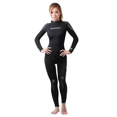 Oceanic Pioneer 5mm Women's Scuba Diving Jumpsuit/Wetsuit - Size 12