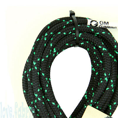 PreCut 25ft 6mm Double Braid Accessory Cord for Climbing Arborist Lanyard Prusik