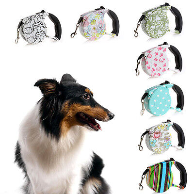 Pet Dog Cat Puppy Automatic Retractable Traction Rope 5m Walking Lead Leash