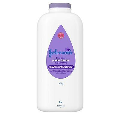JOHNSON'S Baby Powder Calming Lavender 22 oz (Pack of 3), New, Free Shipping