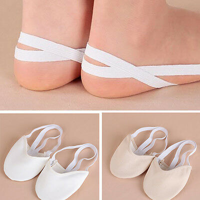 Half Rubber Sole ballet pointe Dance Shoes Rhythmic Gymnastics Slippers Foot SN