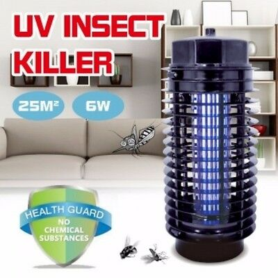 Indoor Electronic UV Mosquito Lamp Insect Zapper Bug Pest Killer Light AU Plug
