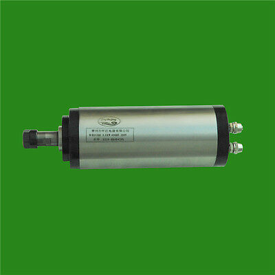 3HP 2.2kw 24000RPM ER16 water cooling Woodworking AC Spindle motor 80mm