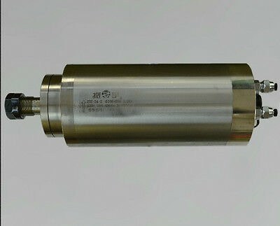 4HP 3kw 24000RPM ER20 water cooling Woodworking AC Spindle motor 105mm