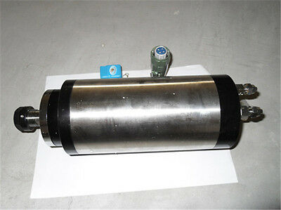 6HP 4.5kw 24000RPM ER20 water cooling Woodworking AC Spindle motor 100mm