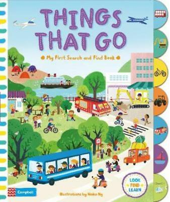My First Search and Find Book: Things That Go