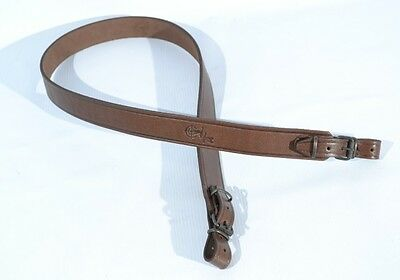 Genuine Leather Shotgun Rifle Sling Strap Strip - Two colors available