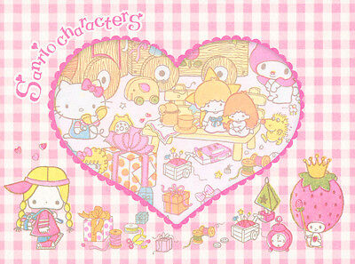 Sanrio Hello Kitty and Other Characters Memo