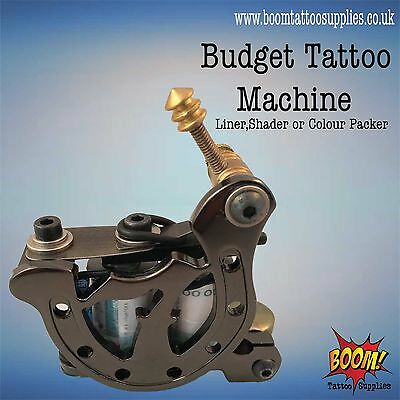 Budget Tattoo Machines Lucky 7 Black ChromeLiner/Shader/Colourpack SALE 63% OFF