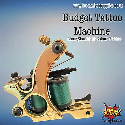 Budget Tattoo Machines Gold Zorro Liner/Shader/Colourpack SALE 63% OFF