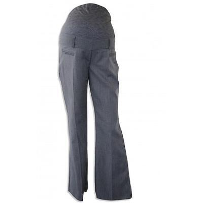 Ex Debs Grey Smart Maternity Over Bump Trousers Sizes 14 16
