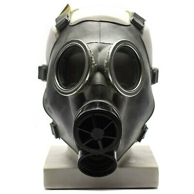 Vintage soviet era army gas mask MC-1. Only mask