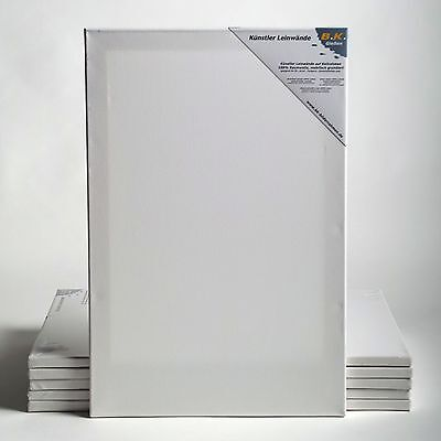 """6 PREMIUM STRETCHED BLANK CANVASES 