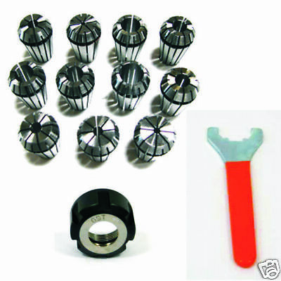 Kit Pinze Chiave Ghiera ER32 DIN 6499/B Collet CNC