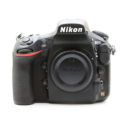 Nikon D810 DSLR 36.3MP Camera Body Only with 2 Year Warranty