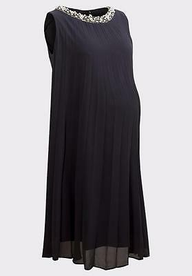 DESIGNER Elegant Pearl & Bead  Maternity Dress by Rock A Bye Rosie RRP £95
