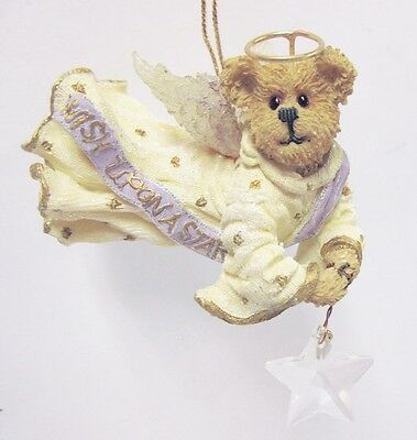 "Boyds #257027-2E - ""Twinkle Starligh"" Bearstone Collection * Christmas Ornament"
