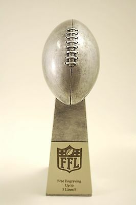 """Fantasy Football Trophy 9.5"""" Lombardi -  Free Engraving!  Ships In 1 Day!"""