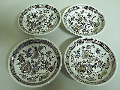 Lot Of 4 Ridgway Staffordshire Jacobean  Bowls 5 1/4 Inches