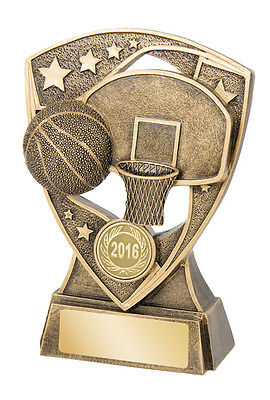 Basketball Trophy 115mm Engraved FREE