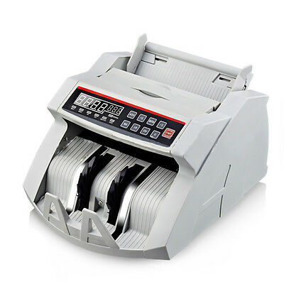 Electronic Bank Note Money Currency Counter Count Fake Detector Pound  Machine