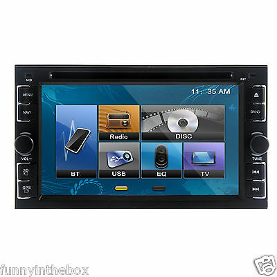 "Double 2 Din 6.2"" HD Car Touch Stereo MP3 DVD Player  zhu10"