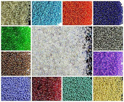CHOOSE COLOR! 20g 11/0 (2.1mm) Seed Beads Rocailles Preciosa Ornela Czech Glass
