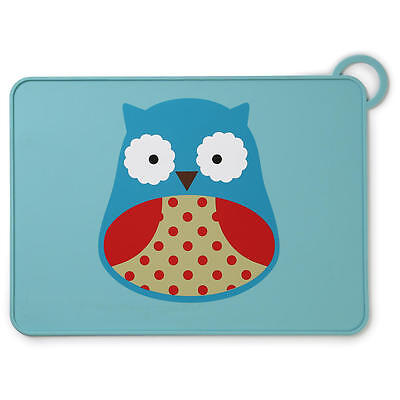 NEW SkipHop Zoo Fold & Go Owl Placemat