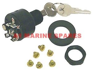 A1 393301 1970-1985 Chrysler Force Outboard Universal ignition switch