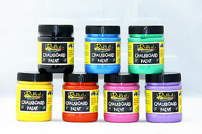 250ml Radical Paint Blackboard Paint Chalkboard Paint Menu Board Paint