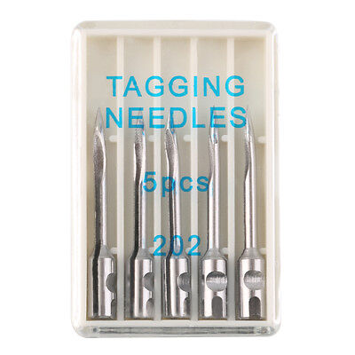 5 x Clothes Regular Standard Price Lable Tag Tagging Gun Tagger Steel Needles OU