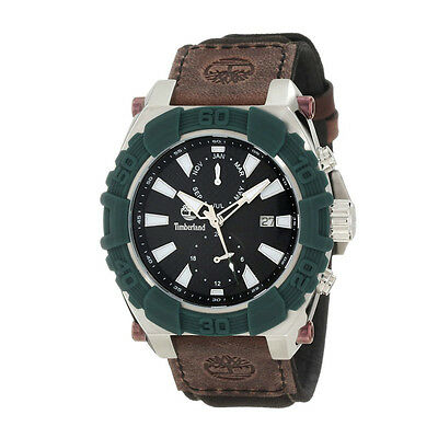 Timberland Hookset Mens's Multi-Function Watch Brown Leather - 13331JSGN/02