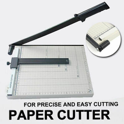 AU SHIP Portable A4 To B7 Paper Photo Cutter Guillotine Trimmer Knife Metal Base