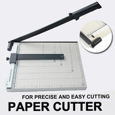 Portable A4 To B7 Paper Photo Cutter Guillotine Trimmer Knife Metal Base AU SHIP