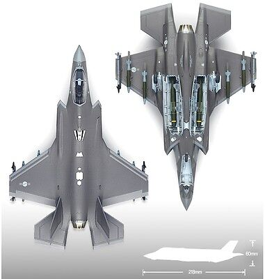 Academy 12526 Plastic Model Kit 1/72 ROKAF F-35A Lightning II Aircraft Airplane