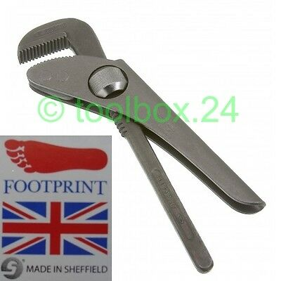 Genuine Original FOOTPRINT Thumbturn 900w Plumbers Pipe Wrench 175mm 7in FOO9007