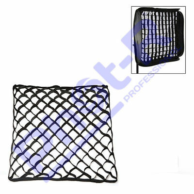Phot-R 60x60cm Fabric Honeycomb Egg Crate Grid Photo Studio Flash Softbox Large