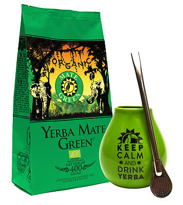 Yerba mate set with very strong Taragui VITALITY 500g + necessary accessories