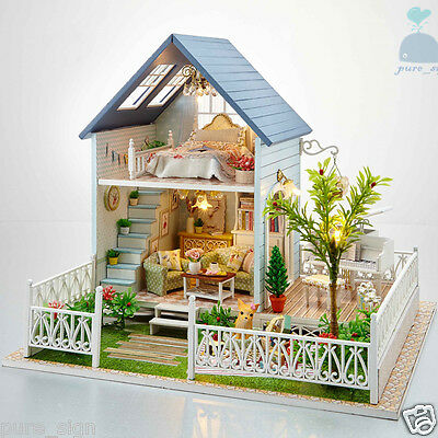 DIY Handcraft Miniature Wooden Dolls House My Little House In Denmark