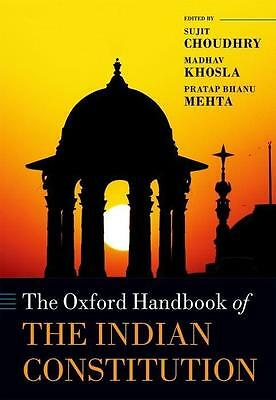 The Oxford Handbook of the Indian Constitution - Sujit Choud ... 9780198704898