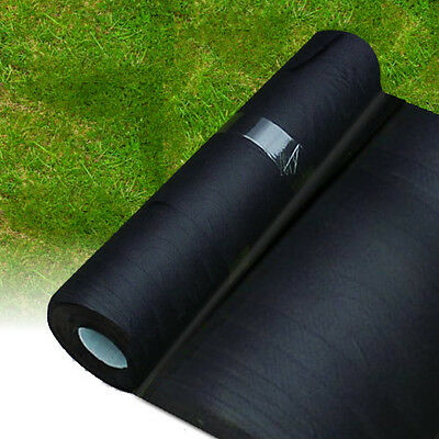 2M X 20M Weed Control Landscape Fabric Membrane Mulch Ground Cover