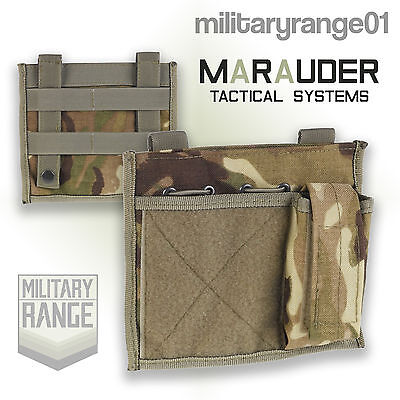 Marauder Admin ID Patch MOLLE - British Army MTP Multicam -Utility Velcro Panel