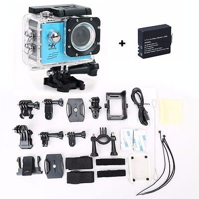 Ultra HD 4K 1080P Waterproof WiFi SJ9000 DV Action Sports Camera Video Camcorder