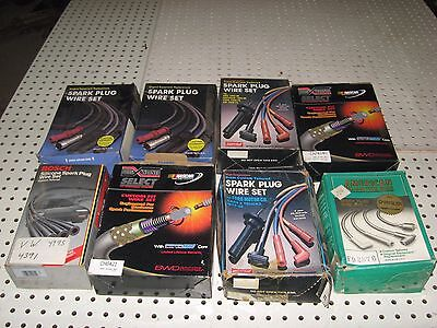 Wholesale Lot Of 8 Sets of Plug Wires