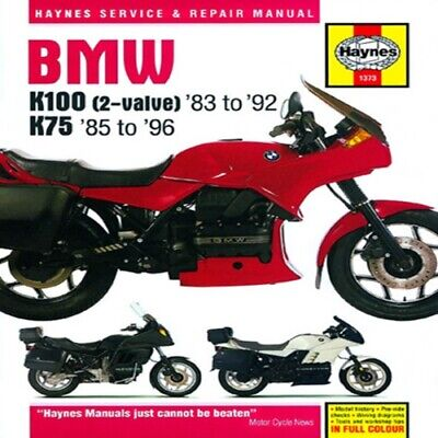 Haynes M1373 BMW K100 and K75 Manuals 70-1007 HM-1373