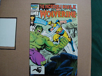 Incredible Hulk and Wolverine #1 VF- NM     - Marvel Presents #1 Wolverine NM