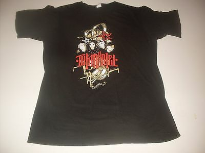 "Tokio Hotel ""Rock North America 2008"" concert tee-shirt size adult Small"