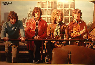 1 german poster THE WHO 70s NOT SHIRTLESS DALTREY TOWNSHEND BOY ROCK BAND BOYS