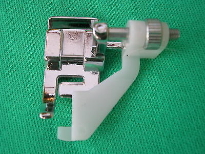 Sewing Machine Clip On Blind Hem Foot Fits Brother Janome Toyota Singer Silver +