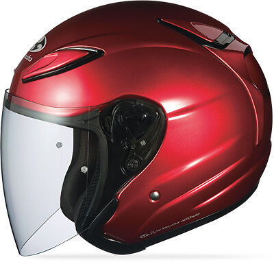 Kabuto Avand Ii Solid Helmet Shiny Red X-Large Part# 7692403
